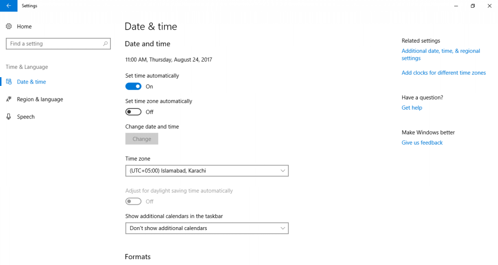 How to Change Date/Time in Windows 10 – Friendly Tutorials